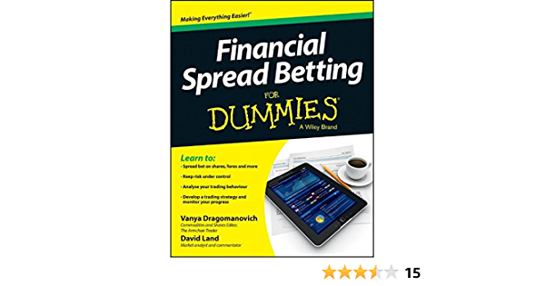 Spread betting for dummies book bodog betting lines college