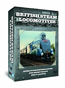 British Steam Locomotives Triple Pack [DVD] [Import anglais]