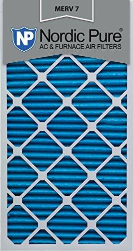 Nordic Pure 20x 30x 1m7-6MERV 7Bundfaltenhose AC Ofen Air Filter, 20x 30x 1, Box mit 6Stück - Merv 7 Ofen-filter