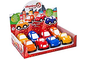 GLOBO- Pull-Back Mini Car 8Asstd D/Box (05220), (1)