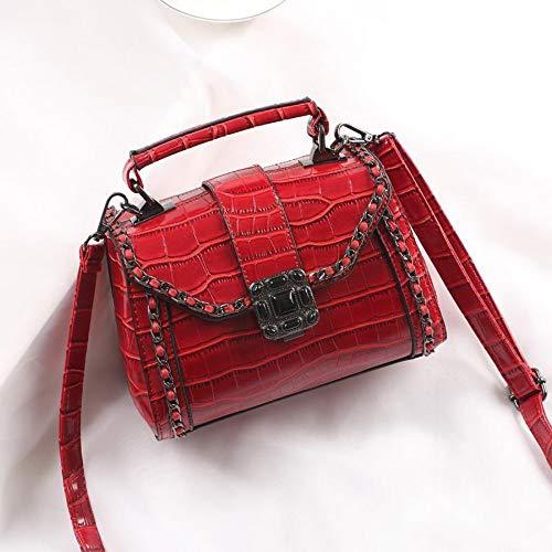 f4e55eebda Umhängetaschen,Frauen Schultertasche,Damen Handtaschen  Crossbody-Tasche,Mode Vintage Crocodile Muster Messenger