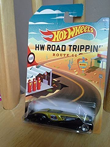Hot Wheels Hw Road Trippin Custom Cadillac Fleetwood 4/32 Route 66 by Mattel