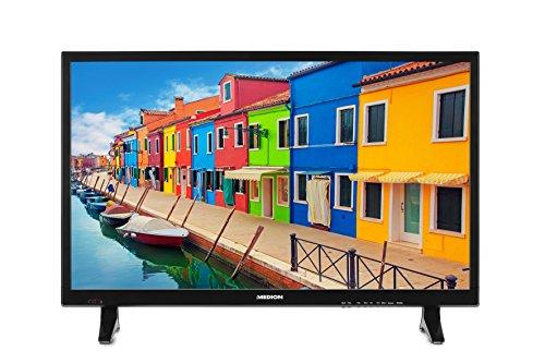 MEDION Life P15236 MD 21444 69,9 cm (27,5 Zoll HD) Fernseher (LCD-TV mit LED-Backlight, Triple Tuner, DVB-T2 HD, HDMI, CI+, USB, Mediaplayer) schwarz