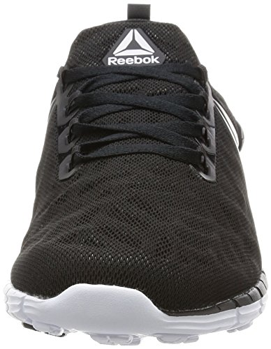 Reebok Zpump Fusion, Chaussures de Sport Homme Multicolore (Black/Coal/White/Sil)