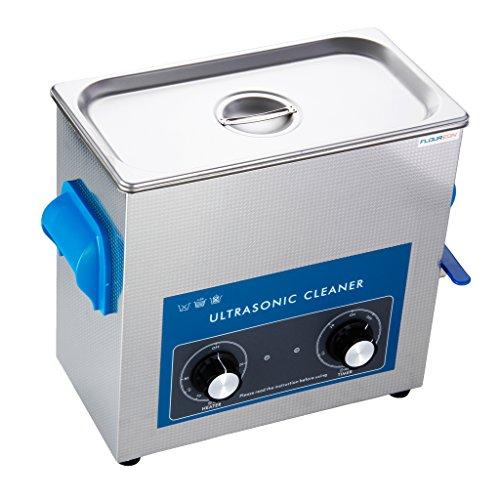 Floureon 6L Ultraschallreinigungsgerät Ultraschall Gerät Reiniger Reinigungsgerät Ultraschallbad Heitzung großer Tank mit Korb Ultraschallreiniger -