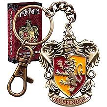 Oficial de Harry Potter Hogwarts Gryffindor Crest Diecast Metal Llavero - En caja