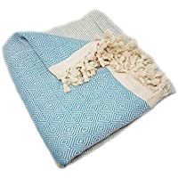 Manta sobrecama ELMAS PREMIUM, de algodón, 200 x 250 cm, 100 % algodón