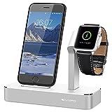 iVAPO 2 in 1 Ladestation für Apple Watch und iPhone Multifunktionelle Halterung für Apple Watch...
