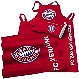 Brauns FC Bayern Grill-set 3-teilig, rot, 45010