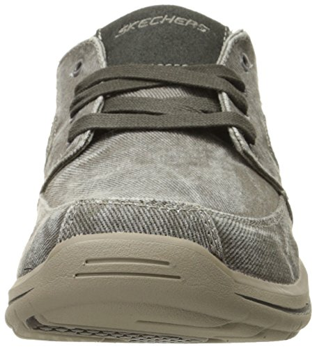 Luz Cinza Skechers Oxford up Sneaker Gewã¤hlt Lace Fultone Eua FqXrw48XSC