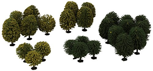 noch-32501-alberi-latifoglia-25-pezzi-40-90-mm