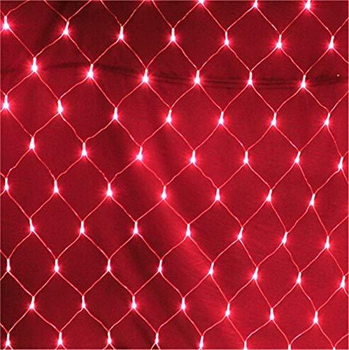 He-shop Fairy Net Licht, Wasserdichte Led Outdoor Garden Corridor Festival Weihnachten Lampe Perlen Vorhang Lampe Post Wohnzimmer Dekoration 8 Modus