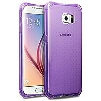 Samsung S6 Case, Terrapin TPU Schutzhülle Tasche Case Cover für Samsung Galaxy S6 Hülle Transparent Lila