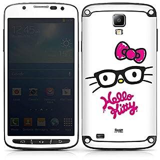 DeinDesign Samsung Galaxy S4 Active Folie Skin Sticker aus Vinyl-Folie Aufkleber Hello Kitty Merchandising Pour Supporters Merchandise Fanartikel