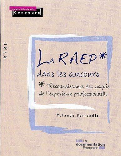 La RAEP dans les concours / série Mémo de Yolande Ferrandis (2010) Broché