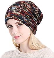 Gorro de punto cálido y bufanda circular al aire libre Bufanda Beanie Skull Cap para invierno