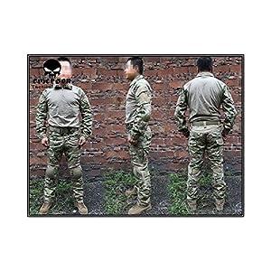 Emerson France Uniforme Tactique Combat Set Génération 2 Multicam Plusieurs tailles