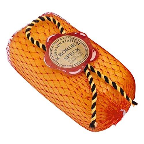 Börde Speck (Käse) | GRATIS DDR Geschenkkarte | Ostprodukte| Ideal für jedes DDR Geschenkset | DDR Traditionsprodukt und Ossi Kultprodukt | Ossi Artikel