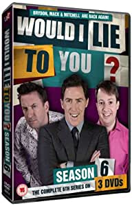 Would I lie To You Series 6 (As seen on BBC1) [3 DVD]