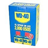 WD 40 34004x2 34104-pack 2 Spray Multiuso (lubricante, aflojatodo, dieléctrico, 400 ml), 400ml