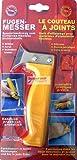 Fugenmesser gelb