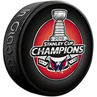 Sherwood Washington Capitals 2018 Stanley Cup Champions NHL Souvenir Puck