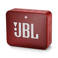 JBL GO 2 Portable Bluetooth Speaker, Red