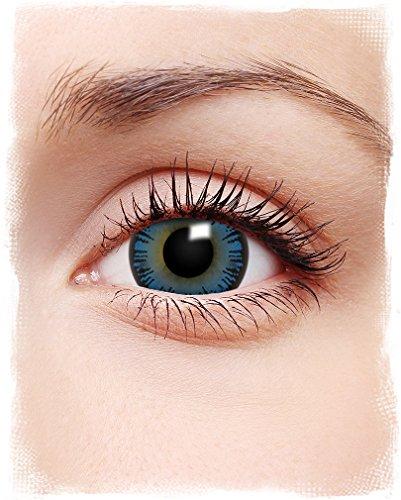 Doll Eyes Kontaktlinsen blau - Halloween Spezial Effekte Kontaktlinsen