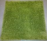 Ikea Teppich Grün Quadratisch, Hochflor, 80 cm x 80 cm