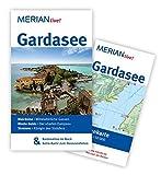MERIAN live! Reiseführer Gardasee: MERIAN live! - Mit Kartenatlas im Buch und Extra-Karte zum Herausnehmen - Pia de Simony