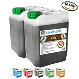 Iceman Sam Slush Sirup - Slusheis/Slush ice Konzentrat, 2 x 5 Liter Kanister, 100% AZO frei - Für jede Slush Maschine (Cola)