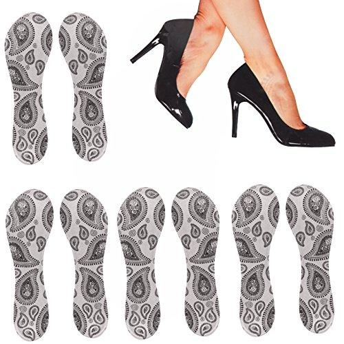 5 Paar Einlegesohle High Heels Entlastungssohle Schuheinlage Pumps Sohlen