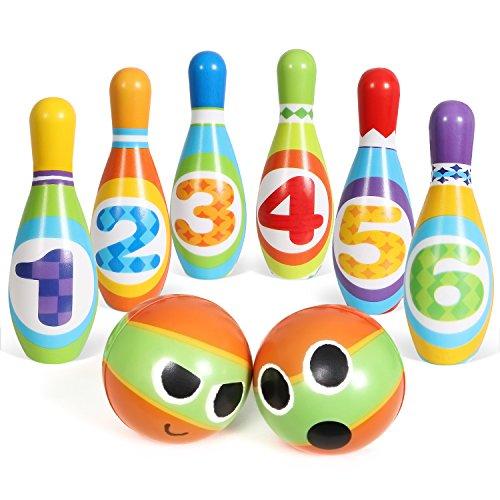 SGILE Set di Bowling Giocattoli per Bambini