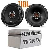 VW Bus T4 Front - Lautsprecher Boxen JBL Club 6520 | 2-Wege | 16cm Koax Auto Einbauzubehör - Einbauset