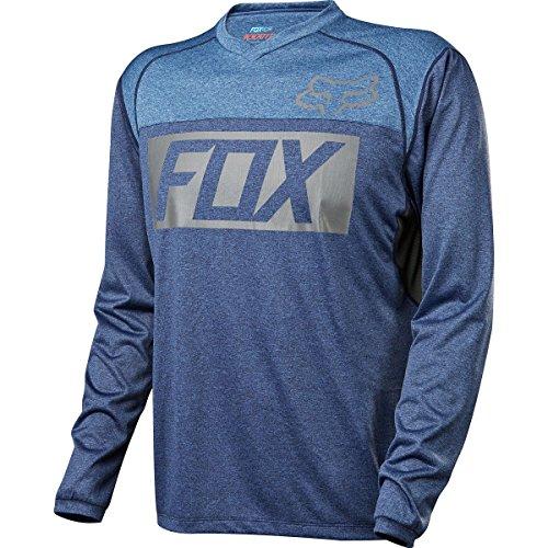 Fox Jersey Indicator Blau Gr. L (Langarm-trikot Racing Fox)