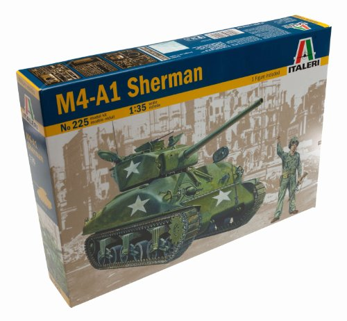 Italeri 0225S - Sherman M4 A1
