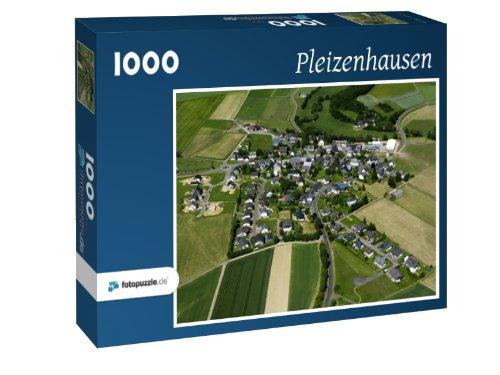 Pleizenhausen - Puzzle 1000 Teile mit Bild von oben
