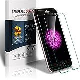 Soyion iPhone 6s Schutzfolie, 2 Stück Panzerglas iPhone 6s 6, iPhone 6s 6 Displayschutzfolie, 9H Härtegrad, 99% Transparenz Full HD, Einfaches Anbringen