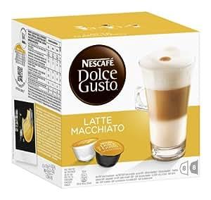 Nescafé Dolce Gusto Latte Macchiato, 3er Pack (48 Kapseln)