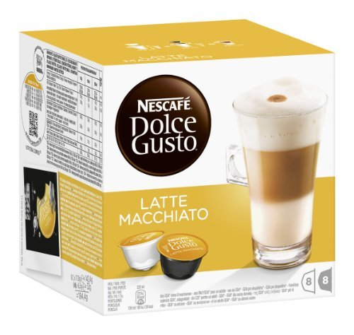 nescaf dolce gusto kaffeekapseln latte macchiato 3er pack 48 kapseln 585g radio. Black Bedroom Furniture Sets. Home Design Ideas