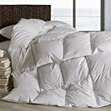 Dreamstead by Cuddledown Modern 700FP Goose Down Hypoallergenic Duvet Comforter, King Warmer, Windowpane