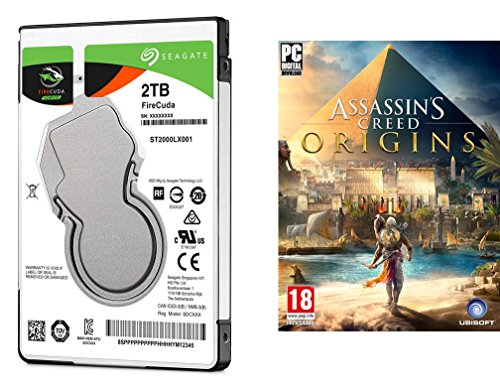 Seagate FireCuda 2TB interne SSHD Festplatte (2,5 Zoll, for PC and PS4)