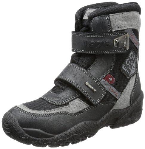 Primigi Tilton-E, Chaussures d'escalades garçon - Noir - Schwarz (Nero/Nero Tilton-E), 33 EU
