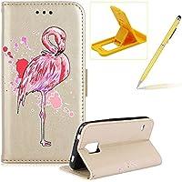 Mädchen Schönen Bling Glitzer Pink Flamingo Malerei Muster Hüllen Für Samsung Galaxy S5, Herzzer Rundum Schutz... preisvergleich bei billige-tabletten.eu
