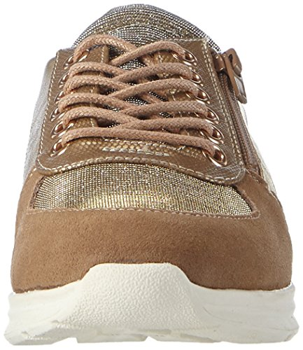 BULLBOXER Afz005f5s Mädchen Low-Top Gold (BRNC)