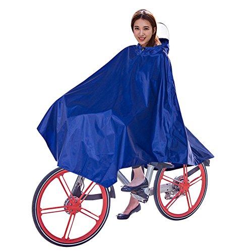 Fahrrad Regenponcho, OLSMART Regencape Damen Fahrrad Regencape Atmungsaktiv mit Kapuze, Regenmantel Wasserdicht mit Reflektierendes Band für Angeln,Wandern,Camping, Reise, alpinismus usw