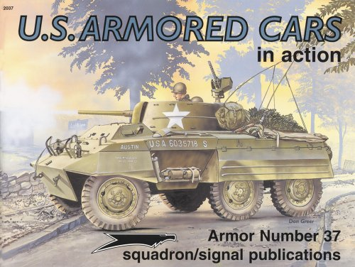US Armored Cars in action - Armor No. 37