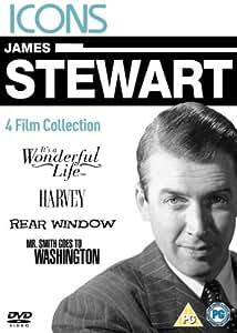James Stewart - It's A Wonderful Life/Harvey/Rear Window/Mr. Smith Goes To Washington [DVD] [1939]