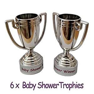 Baby Shower Party Games - 6 Baby Shower PRIZES / FAVORS - Trophies #PZ