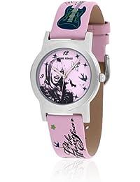 Time Force HM1010 - Reloj con correa de piel para mujer, color rosa / gris
